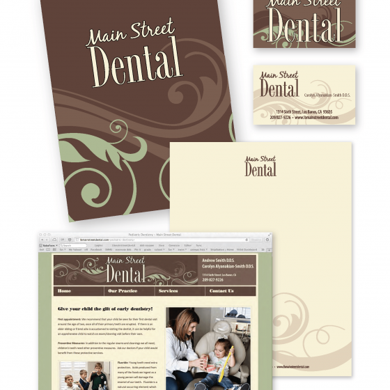 Main Street Dental Identity