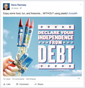 besocialmarketing_4th-dave-ramsey